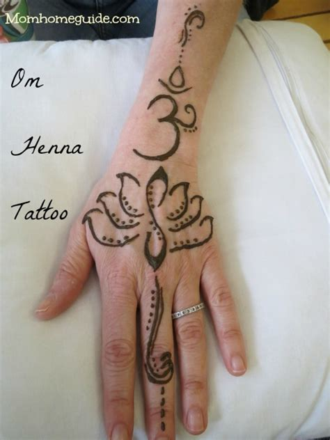om henna tattoo henna out
