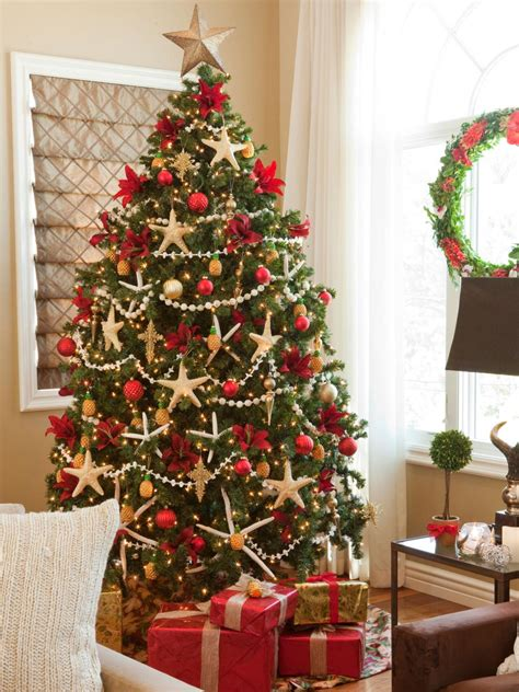 tree decor for home christmas tree themes hgtv