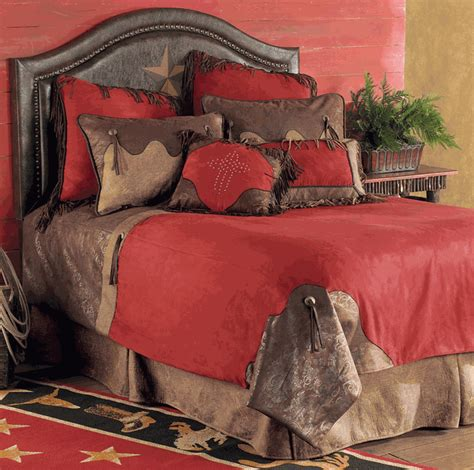 western red triple star comforter set western bedding size rodeo bed set lone western decor