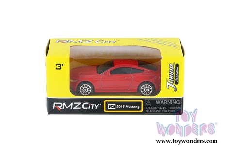 Die Cast City Vehicle 6 Pcs 2015 ford mustang top 344028s rmz city wholesale
