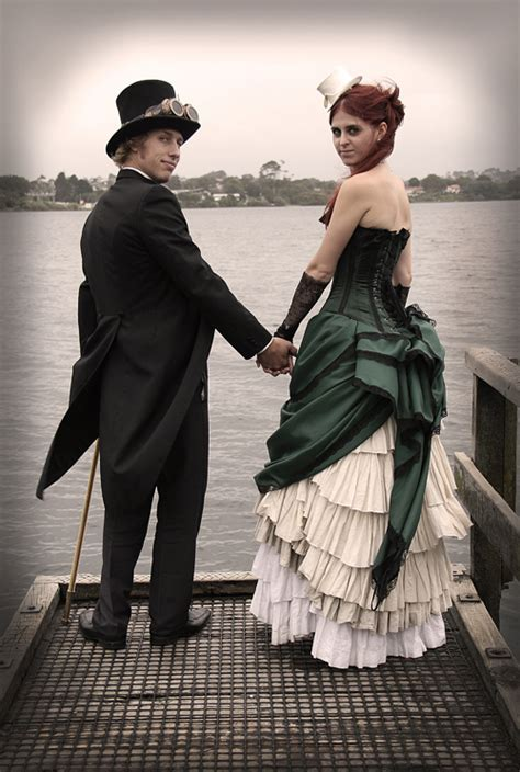 Steampunk Wedding Shoot: Heritage, Jess Manning