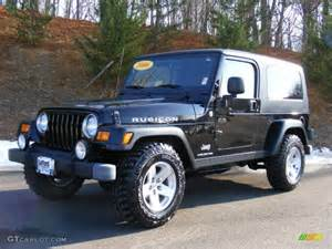 2006 Jeep Wrangler Unlimited Black 2006 Jeep Wrangler Unlimited Rubicon 4x4 Exterior