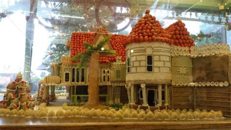 House Decoration Ideas gingerbread house of winchester mansion picture of