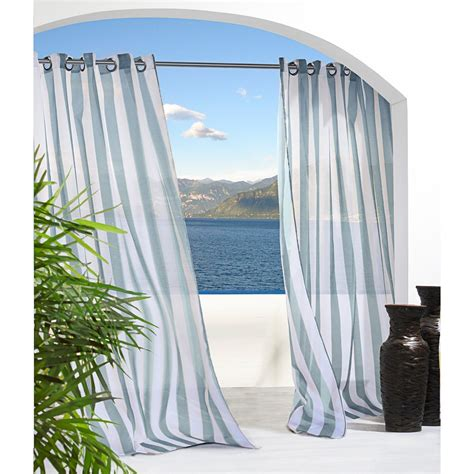 outdoor drapery pretty indoor outdoor curtains homesfeed