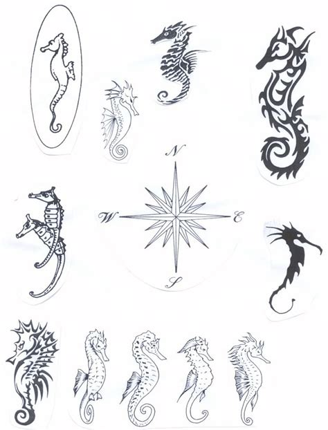 celtic animal tattoos designs http tattoomagz seahorse meaning celtic