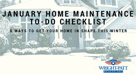 get your house in shape this winter seven things you must fix articles by category homeowner tips wright patt realty