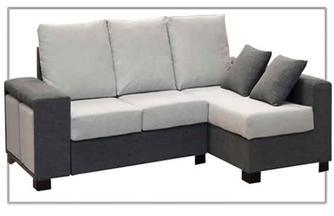 sofas con cheslong sof 225 cheslong con arc 243 n abatible y puffs