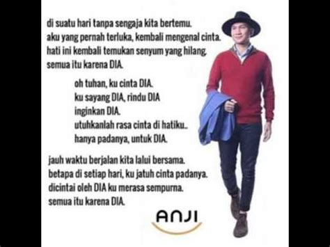 Dia Anji Mp3 Download | lirik lagu anji dia lagu