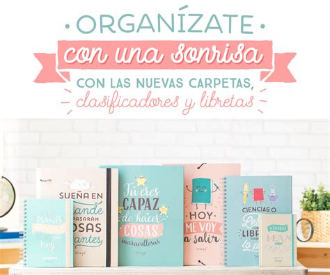 salita amarilla frases para carpeta nuevas carpetas archivadores y libretas para organizarte
