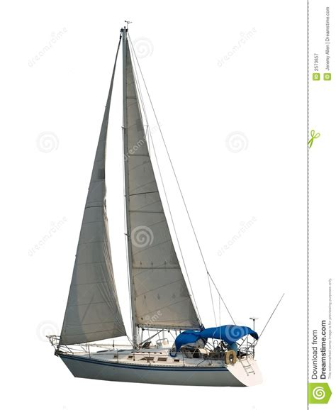 sailboat stern tie isolated sailboat royalty free stock photography image