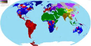 Religion Map Of The World by Highly Detailed World Religion Map By Scolbert08 Map