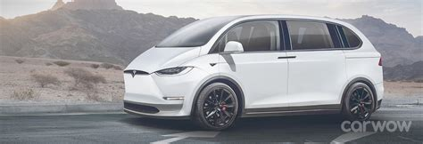 tesla minivan new tesla minivan price specs and release date carwow