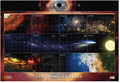 What Calendar Is The Same As 2015 Cosmos Calendar 2015 Same One As 2014 But Weekdays