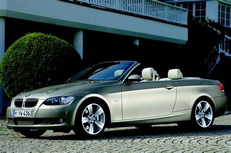 2006 bmw 335i convertible 2007 2010 bmw 3 series convertible used car review