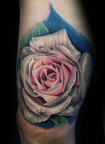 red and white rose tattoo 90 realistic designs for floral ink ideas