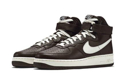Promo Nike Airforce 1 Low Brown Premium Original Sepatu Kerja Kets xg8mbr4k outlet nike air 1 high release dates