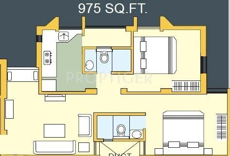 975 Sq Ft 2 Bhk 2t Apartment For Sale In Charms India 975 Sq Ft 2 Bhk 2t Apartment For Sale In Bakeri Sakshat