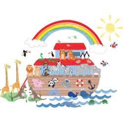 Jojo Maman Bebe Wall Stickers Jojo Maman B 233 B 233 Noah S Ark Wall Decal Wayfair