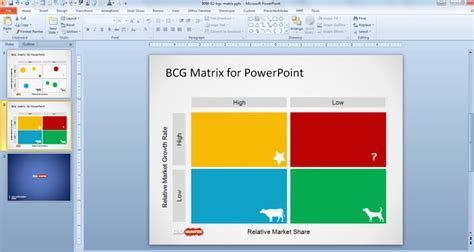 bcg powerpoint template free boston consulting matrix template for