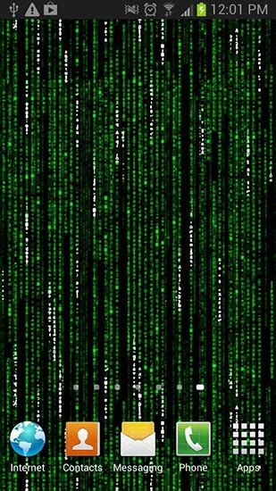 wallpaper android matrix matrix live wallpaper for android matrix free download