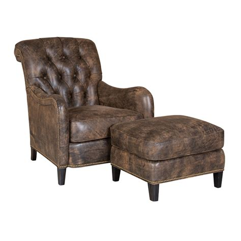 classic leather chair and ottoman classic leather 8686 8685 nottingham chair and ottoman