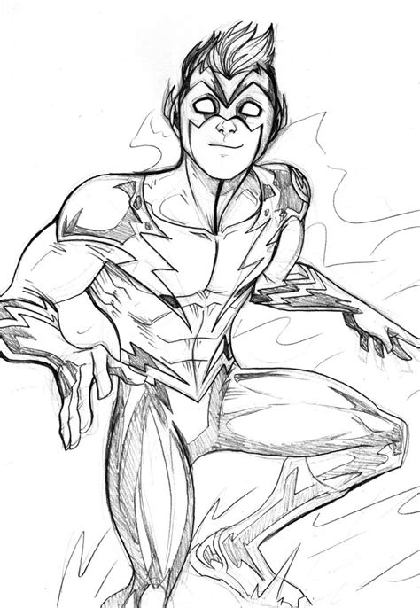 Coloring Pages From The Flash Zoom Coloring Pages The Flash Coloring Pages