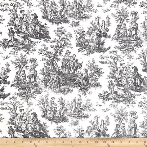 waverly rustic life toile black discount designer fabric fabric com