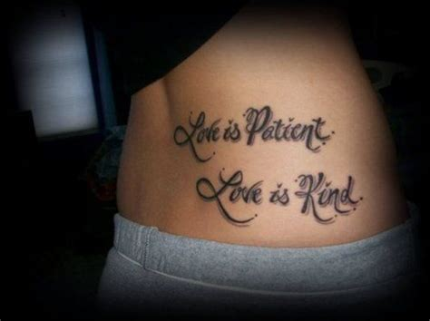 tattoo bad bible 66 best images about love is patient love is kind on