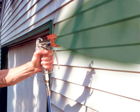 how to spray paint a house exterior toss the paint brush and spray paint like a pro