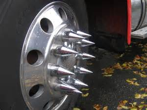 Truck Wheel Nut Spikes Semi Vs Small Car Page 2 Mgb Gt Forum Mg