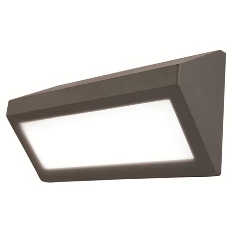 wedge landscape light bulbs brilliant berwick charcoal wedge bunker exterior wall light