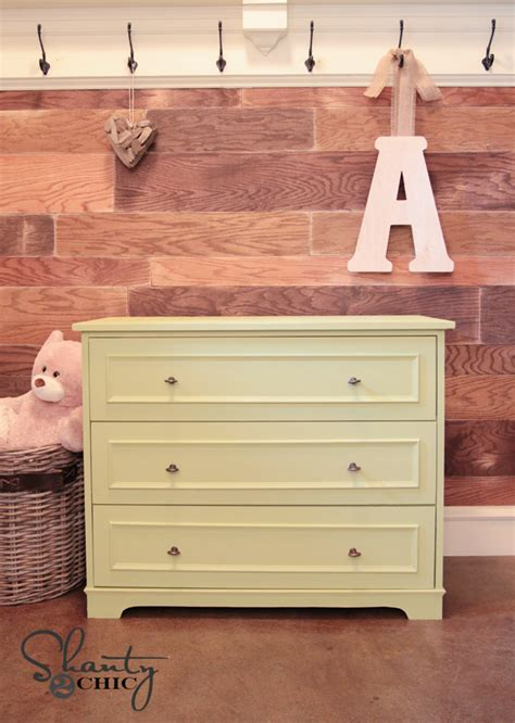 Can You Use A Dresser As A Changing Table by Diy Pottery Barn Inspired Changing Table Shanty 2 Chic