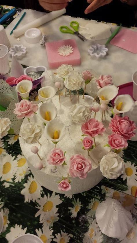 pasta per fiori 17 migliori idee su fiori di pasta di gomma su