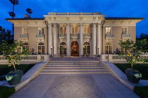 Aaron Spelling Mansion Floor Plan once hub of la power landmark home in foreclosure
