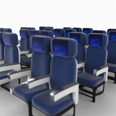 couch class coach class seats 3d max