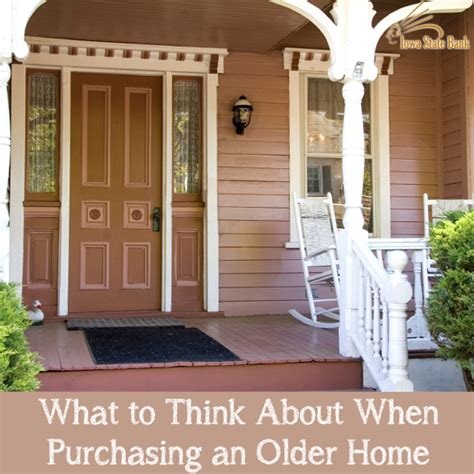 buying an older home 5 considerations for buying an older house iowa state