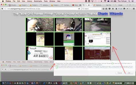 tutorial youtube api youtube api iframe synchronicity tutorial robert james