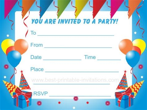 Kids Birthday Party Invitation Templates Free Cloudinvitation Com 12 Birthday Invitation Templates