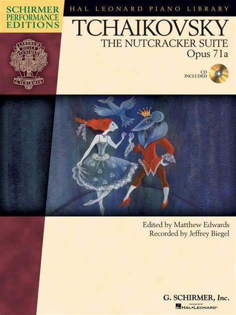 libro dance to the music tchaikovsky the nutcracker suite op 71a per pianoforte libro con cd spartiti piano e