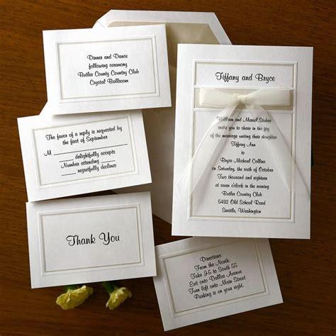 custom wedding invitations thermography organza wedding invitation set raised