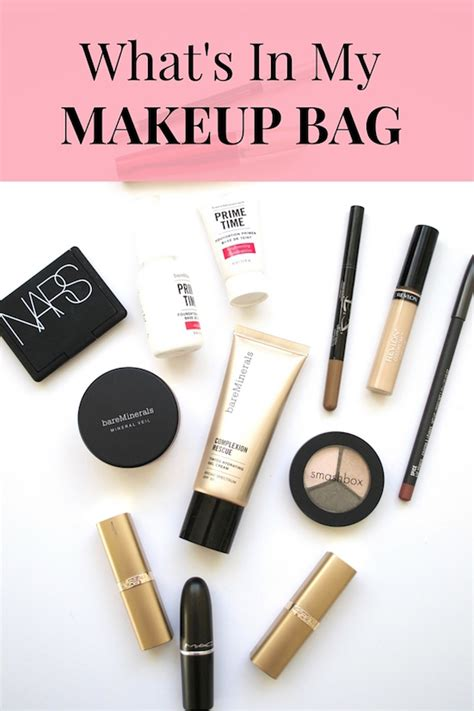 whats in a what s in my makeup bag 2016 mugeek vidalondon