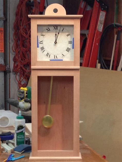 hancock shaker wall clock  knothead  lumberjockscom