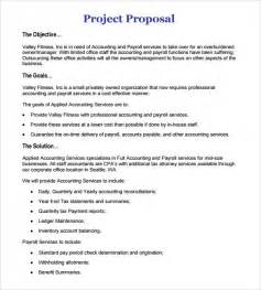 project proposals templates sle work 5 documents in pdf word