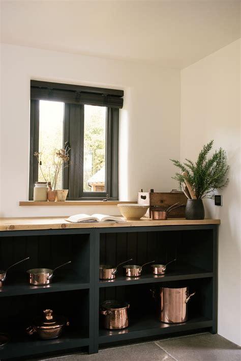 perfect combination warm copper pans  devol open