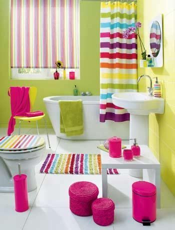Bright Colored Bathrooms by 12 Fotos De Ba 241 Os En Colores Vivos