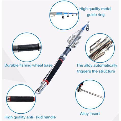 Joran Pancing Lipat joran pancing otomatis joran pancing yang cocok untuk pemancing pemula dan profesional