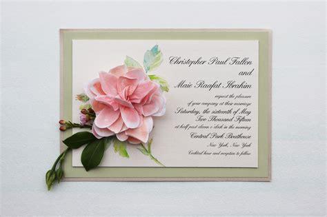 paper flower wedding invitation paper flower wedding invitations momental designsmomental designs