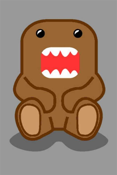 Domo Kun Iphone 5 domo domo kun iphone wallpaper 0 wallpaper