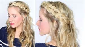 tips for hairstyle for broad headed how to soft dutch braid youtube