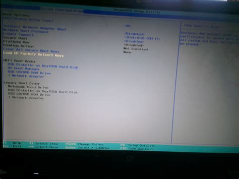 reset bios hp envy secure boot on envy 6 intel page 2 hp support forum